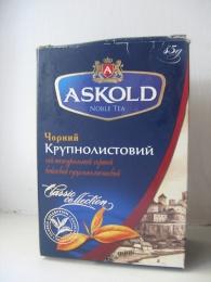 Чай черный крупнолистовой Askold Noble Tea Classic Collection