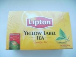 Черный чай Lipton Yellow Label