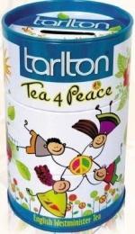 """Чай черный Tarlton Tea for Peace """"Дружба"""" с ароматом бергамота и ванили, цветками шафрана, гвоздики"""