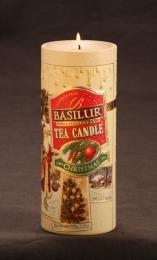 Чай черный цейлонский байховый крупнолистовой Basilur Christmas Tea Candle
