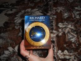 Чай черный цейлонский листовой Richard Christmas Clocks