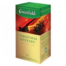 "Чай Greenfield ""Christmas Mystery"" черный с корицей в пакетиках"