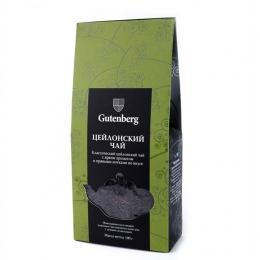 """Чай чёрный цейлонский """"Gutenberg"""""""