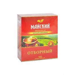 """Отборный цейлонский чай """"Майский"""" черный байховый в пакетиках"""