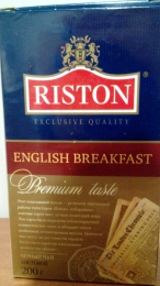 """Черный чай Riston """"English Вreakfast"""" черный"""
