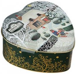 Чай зеленый байховый листовой с чабрецом Ahmad Tea Novel Thyme со вкусом и ароматом клубники