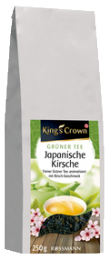 Чай зелёный Kings Crown Japanische Kirsche