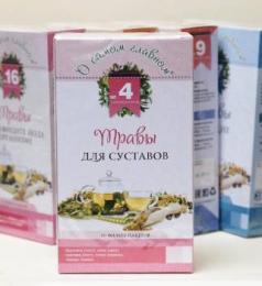 """Чайный напиток """"Фитокод"""" О самом главном №4 Травы для суставов"""