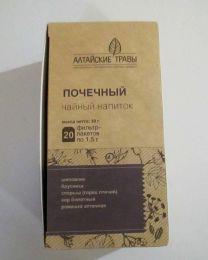 """Чайный напиток """"Почечный"""" пакетированный """"Алтайские травы"""""""