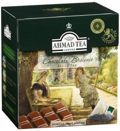 Черный чай Ahmad Tea Chocolate Brownie шоколадный брауни