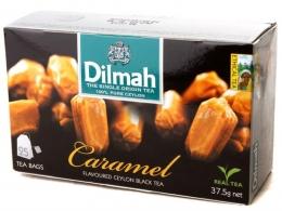 Черный чай Dilmah Caramel, в пакетиках