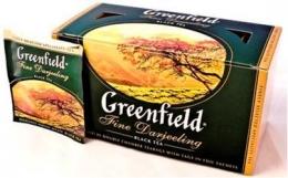 Черный чай Greenfield Fine Darjeeling в пакетиках