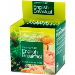 Черный чай Simon Levelt English Breakfast, в пакетиках