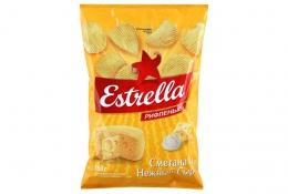 """Чипсы """"Estrella"""" Нежный сыр и сметана"""