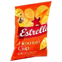"""Чипсы """"Estrella"""" Нежный сыр"""
