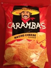 """Чипсы кукурузные """"Carambas"""" Nacho cheese"""