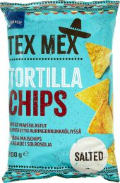 Чипсы кукурузные Rainbow Tex Mex Tortilla Chips, Salted