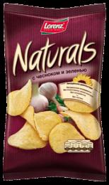 """Чипсы Lorenz """"Naturals"""" с чесноком и зеленью"""