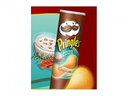Чипсы Pringles Bacon Ranch