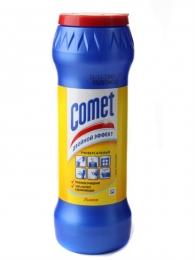 Чистящий порошок Comet двойной эффект лимон