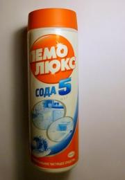 """Чистящий порошок ПемоЛюкс Сода 5 эффект """"Морской бриз"""""""