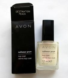 Декоративное покрытие для ногтей Avon NailWear Pro+ Destination Peach