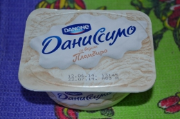 """Продукт творожный Danone Даниссимо со вкусом """"Пломбир"""""""