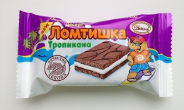 "Десерт ""Ломтишка"" Тропикана со вкусом тутти-фрутти Акконд"
