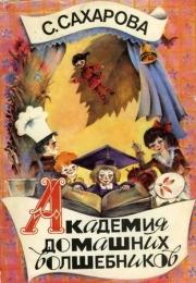 """Детская книга """"Академия домашних волшебников"""" Сахарова Саида"""