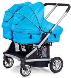 Детская коляска для двойни Valco Baby Zee Spark Duo