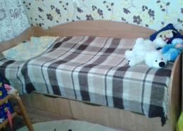 """Детская кровать """"Дешевая мебель тут"""" Кроха"""