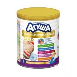 Сухая молочная смесь Агуша Gold 1 от 0 до 6 месяцев