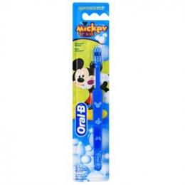 Детская зубная щетка Oral-B Mickey for kids