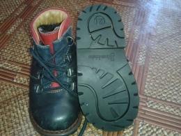 Детские демисезонные ботинки Caren Jchuhe Del-tex