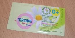 Детские одноразовые напальчники Masque Baby Aqua