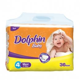Детские подгузники Dolphin baby Maxi 4