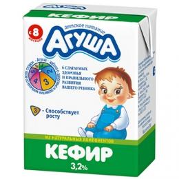 """Детский кефир """"Агуша"""" 3,2%"""