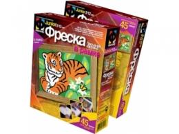"Детский набор для создания фрески ""Тигр и бабочка"" Фантазёр"