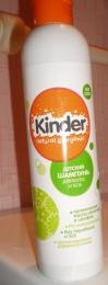 Детский шампунь для волос и тела Kinder Natural & Organic с маслами шалфея и облепихи