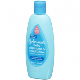 Детский шампунь-кондиционер Johnson's baby для тонких и кучерявых волос
