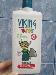 Детский шампунь Viking kids мягкий 2+