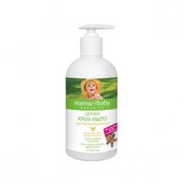 """Детское крем-мыло для чувствительной кожи """"Mama&Baby Organics"""" с маслом облепихи и ромашки"""
