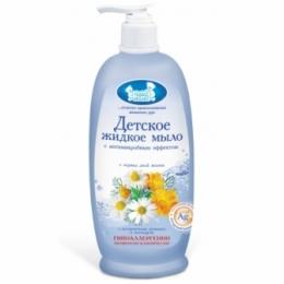 """Детское мыло с антимикробным эффектом """"Наша мама"""" с экстрактом ромашки и календулы"""