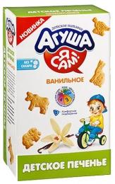 """Детское печенье Агуша """"Я сам"""" ванильное"""