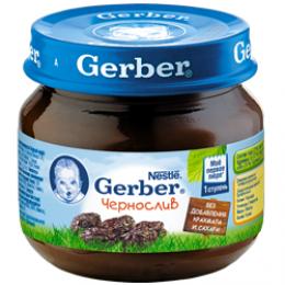 Детское пюре Gerber чернослив