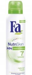 Дезодорант-антиперспирант Fa NutriSkin Natural Fresh