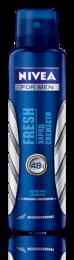 Дезодорант-антиперспирант Fresh заряд свежести с морскими минералами спрей