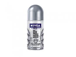 Роликовый дезодорант-антиперспирант Nivea for Men Silver Серебряная защита