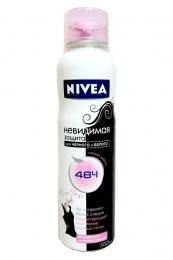 """Дезодорант-антиперспирант Nivea """"Невидимая защита"""" для черного и белого, спрей"""