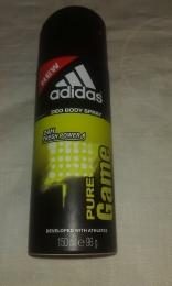 Дезодорант-спрей для мужчин Adidas Pure Game Deo Body  spray